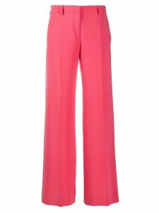 Alberto Biani flared style trousers - PINK