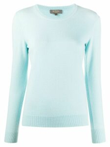 N.Peal round neck cashmere jumper - Blue