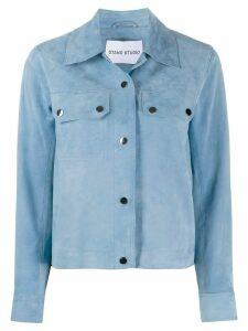 STAND STUDIO long sleeve shirt jacket - Blue