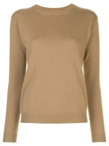Alexandra Golovanoff crew neck jumper - Brown