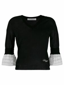 Philosophy Di Lorenzo Serafini fine knit top - Black