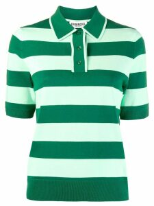 Essentiel Antwerp striped polo shirt - Green