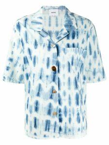 Nanushka tie dye print shirt - Blue