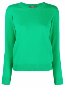 N.Peal round neck cashmere jumper - Green