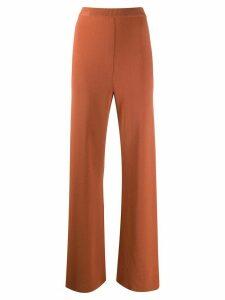 Nanushka high rise straight-leg trousers - Brown
