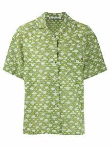 Acne Studios printed short-sleeved shirt - Green