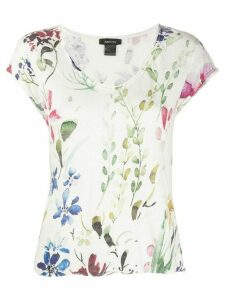 Avant Toi floral print T-shirt - NEUTRALS