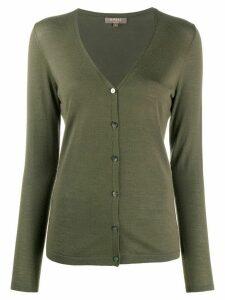 N.Peal v-neck cashmere cardigan - Green