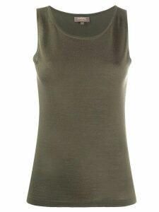 N.Peal sleeveless cashmere top - Green