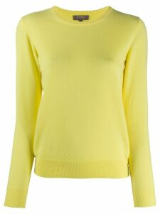N.Peal crew neck cashmere jumper - Yellow