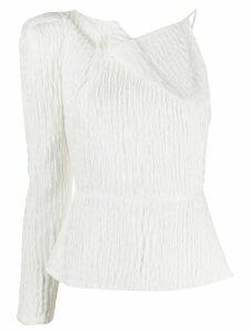 Roland Mouret Bryant asymmetric top - White