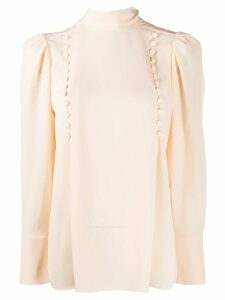 Givenchy decorative buttoned blouse - ORANGE