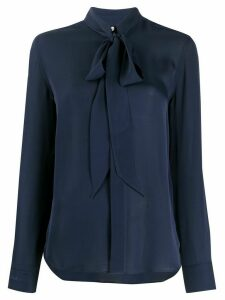 Polo Ralph Lauren pussy bow blouse - Blue