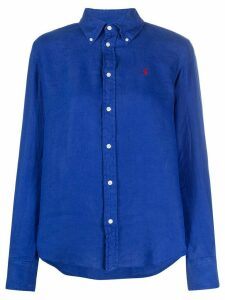 Polo Ralph Lauren embroidered logo shirt - Blue