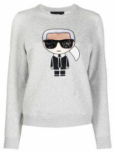 Karl Lagerfeld Iconic Karl sweatshirt - Grey