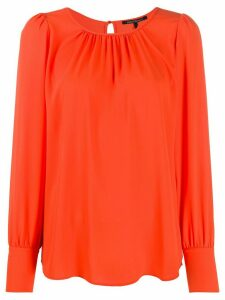 Luisa Cerano relaxed plain blouse - ORANGE