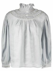 Isabel Marant Étoile long-sleeve flared blouse - Grey
