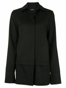 Goen.J satin-insert jacket - Black