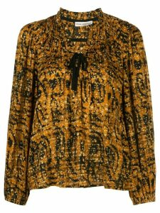 Ulla Johnson Jamila floral print blouse - Yellow