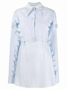 Stella McCartney Stevie Petal shirt - Blue