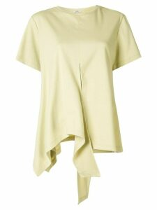 Goen.J oversized asymmetric top - Yellow