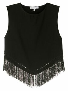Nk TOP FRANJA HALLEY POLY NKO - Black