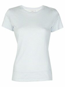 Vince striped shortsleeved T-shirt - White
