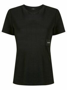 Goen.J logo patch T-shirt - Black