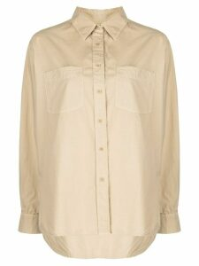 Nili Lotan long sleeve shirt - Brown