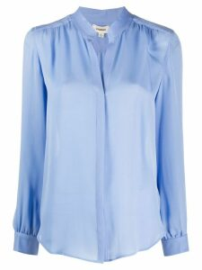 L'Agence Bianca button down blouse - Blue