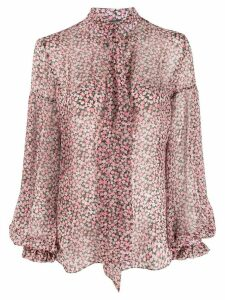 Wandering floral print blouse - PINK