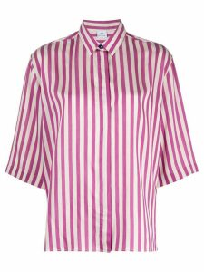 PS Paul Smith striped short sleeved shirt - PURPLE