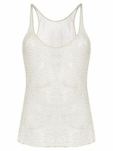 Sir. Millie polka dot tank top - Brown