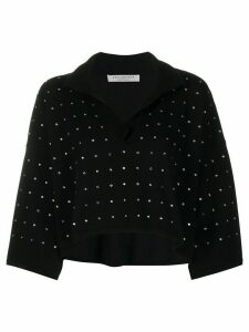 Philosophy Di Lorenzo Serafini embellished knitted top - Black