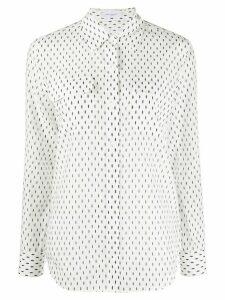 Equipment spot print shirt - White