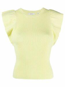 A.L.C. fine knit top - Yellow