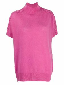 Ermanno Scervino lace panel top - PINK