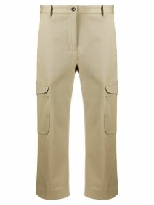 Nine In The Morning tailored cropped trousers - NEUTRALS