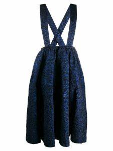 Comme Des Garçons pinafore dress - Blue