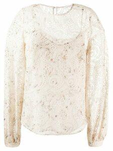 Veronica Beard Azar blouse - NEUTRALS