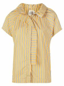 A Shirt Thing striped print shirt - Yellow
