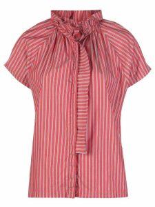 A Shirt Thing striped print shirt - Red