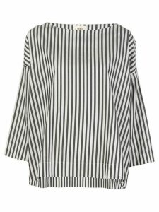 A Shirt Thing striped print shirt - Black