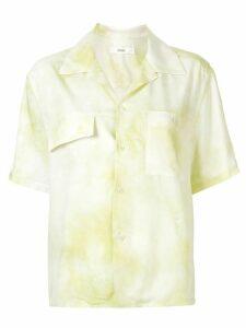 G.V.G.V. tie-dye open collar shirt - Yellow