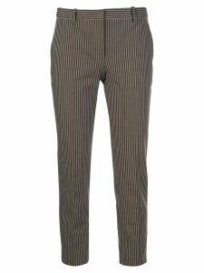 Theory tailored striped print trousers - Brown