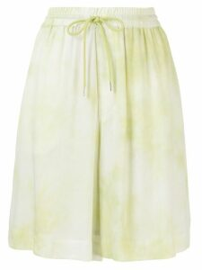 G.V.G.V. tie-dye shorts - Yellow