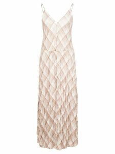 Vince Hazy plaid slip dress - Brown