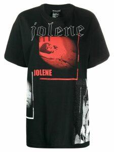 Ann Demeulemeester Jolene printed T-shirt - Black