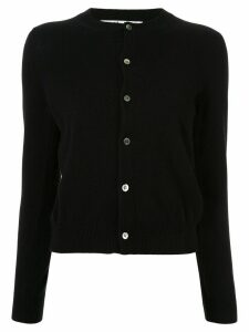 Comme Des Garçons Play knitted buttoned cardigan - Black