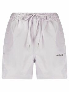 Soulland Olivia swim shorts - PURPLE